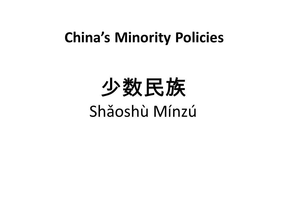 Shǎoshù Mínzú Chinas Minority Policies