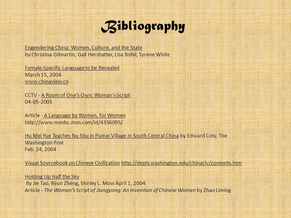 Engendering China: Women, Culture, and the State by Christina Gilmartin, Gail Hershatter, Lisa Rofel, Tyrene White Female-Specific Language to be Reve