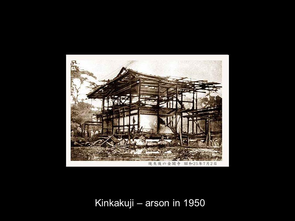 Kinkakuji – arson in 1950