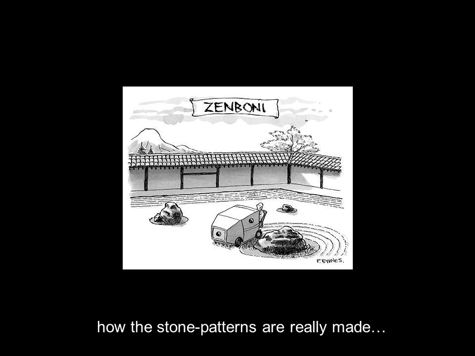 how the stone-patterns are really made…