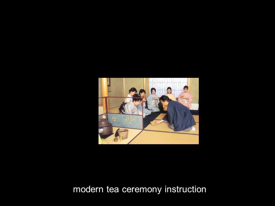 modern tea ceremony instruction