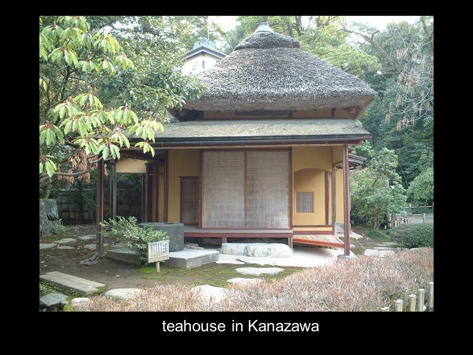 teahouse in Kanazawa