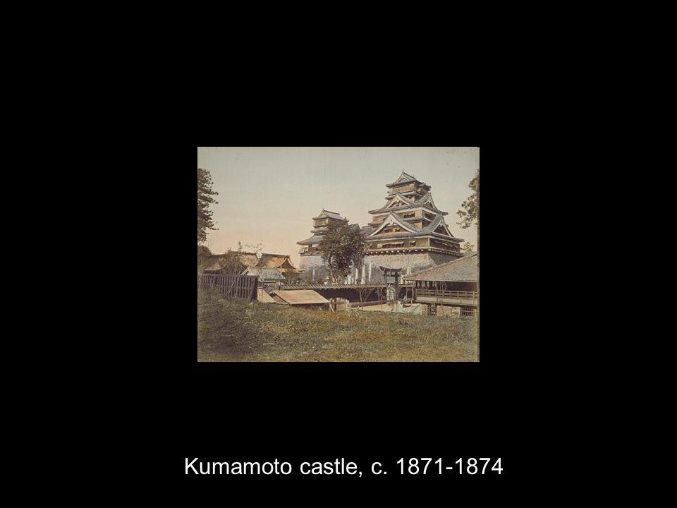 Kumamoto castle, c. 1871-1874