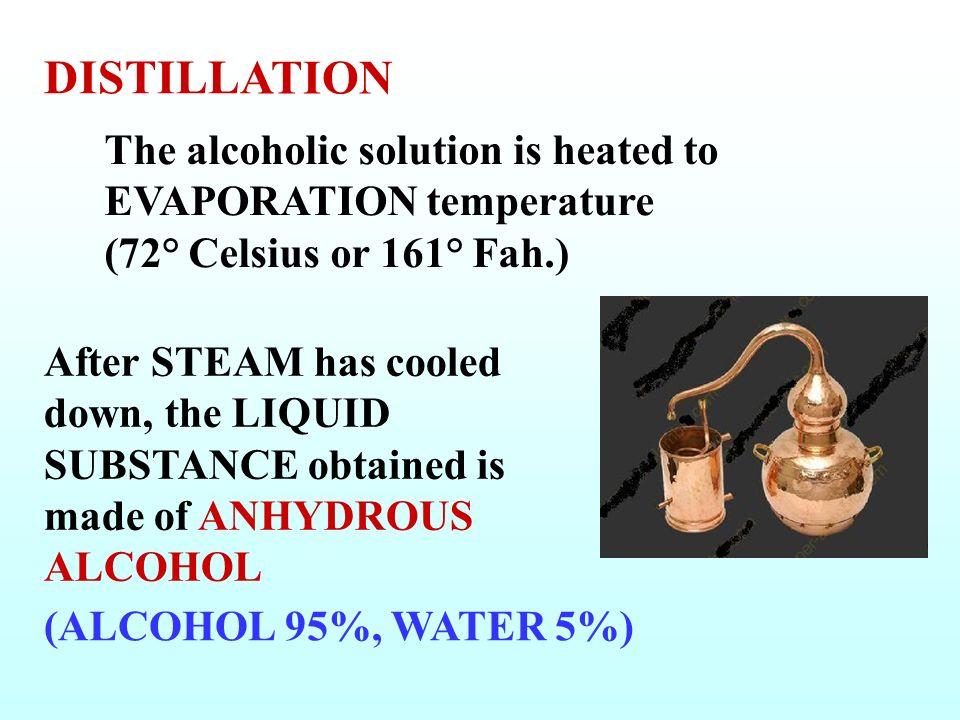 ETHYL ALCOHOL CONTENT in the Alcohol Beverages (from FERMENTATION)