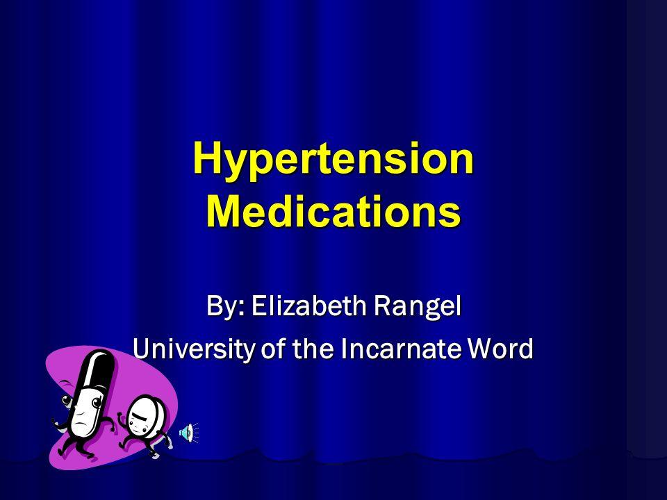 Medication Classification Antihypertensive Antihypertensive