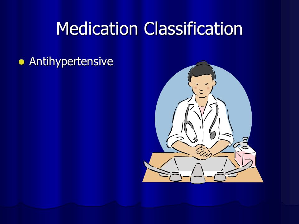 Medication actions Catapres ( Clonidine) This medication is used to treat high blood pressure.