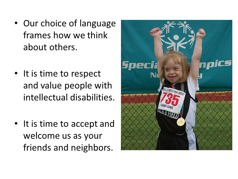 Join Special Olympics in the campaign to end the r-word.