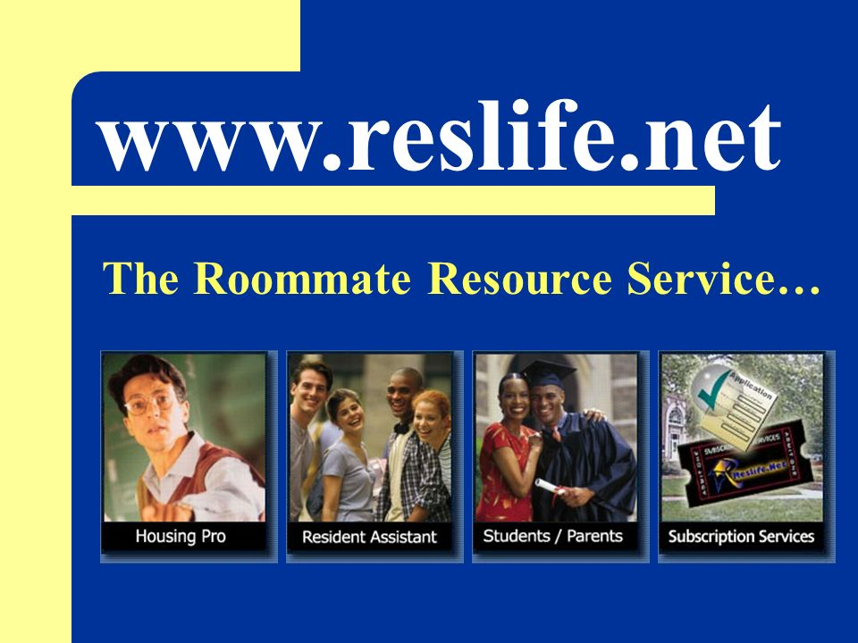 The Roommate Resource Service…