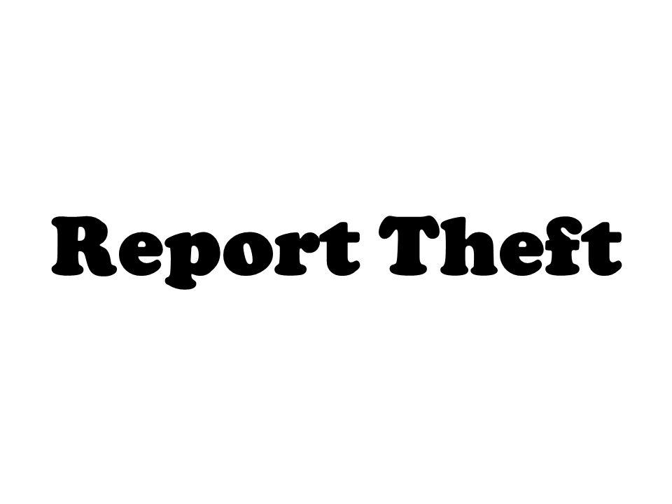 Report Theft