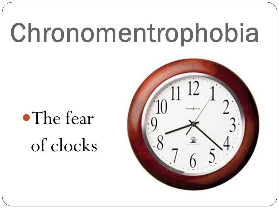 Automatonophobia The fear of wax statues