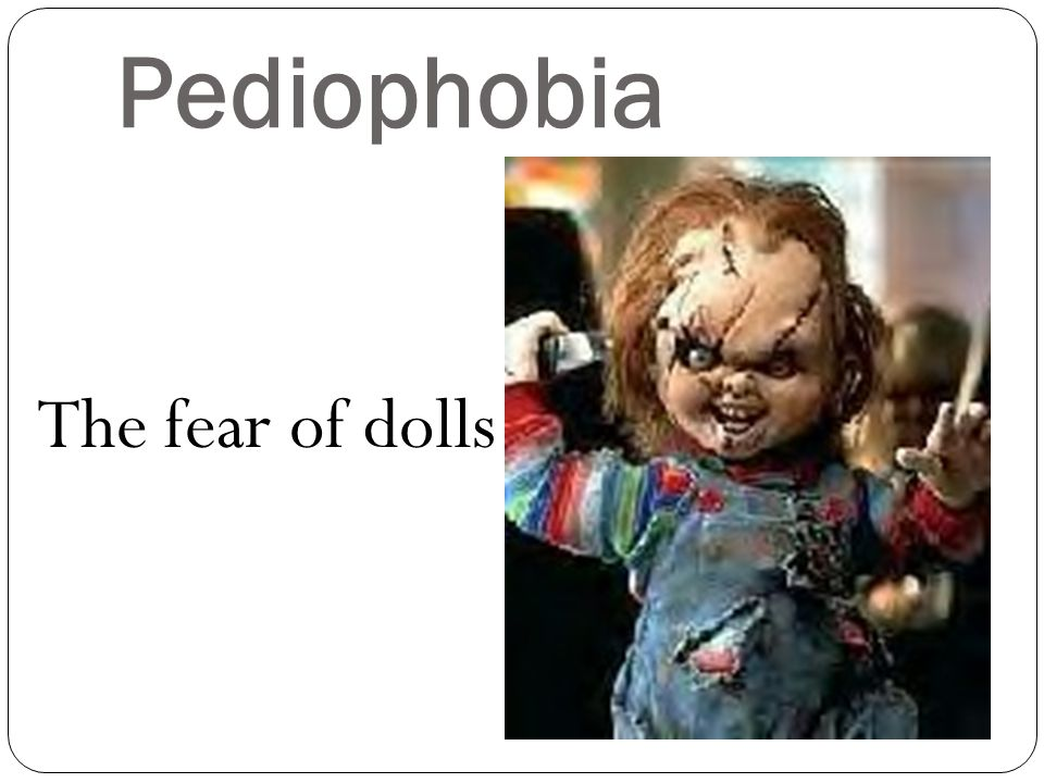 Panophobia Fear of everything
