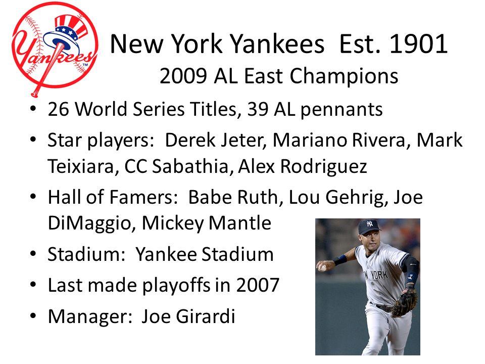 New York Yankees Est.