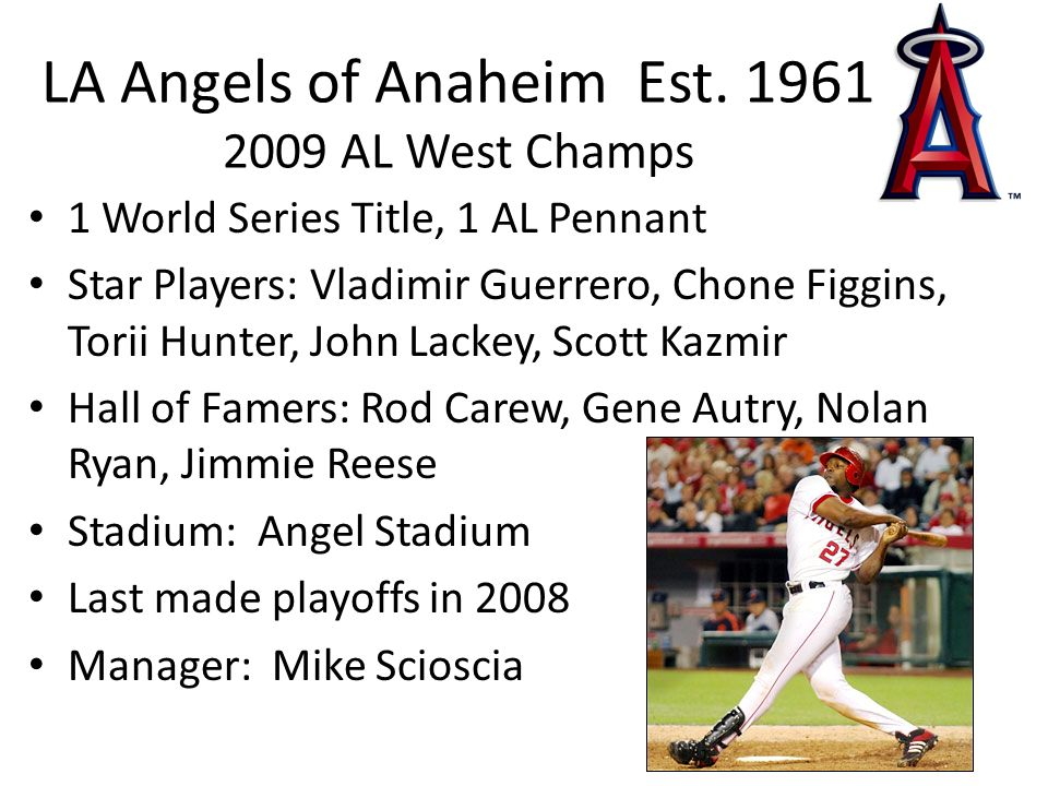LA Angels of Anaheim Est.