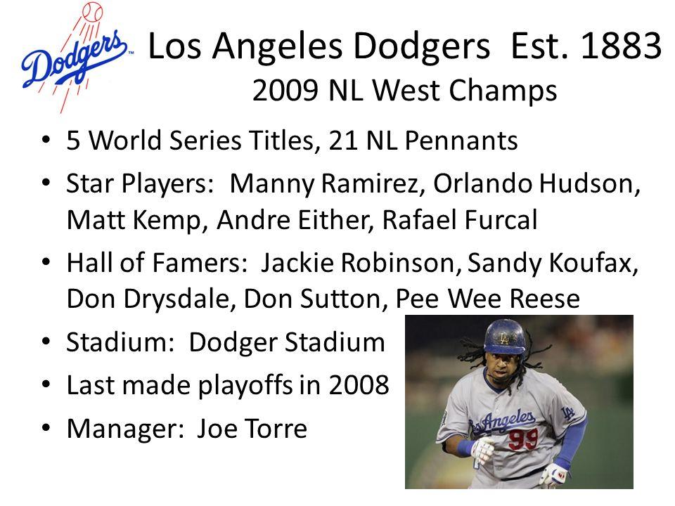 Los Angeles Dodgers Est.