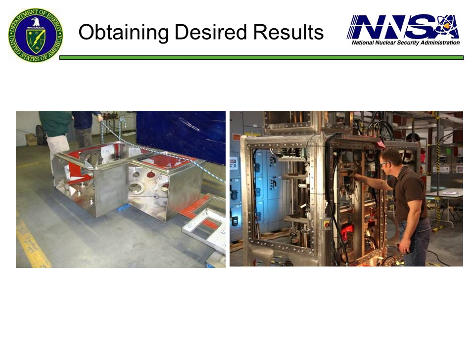 Obtaining Desired Results