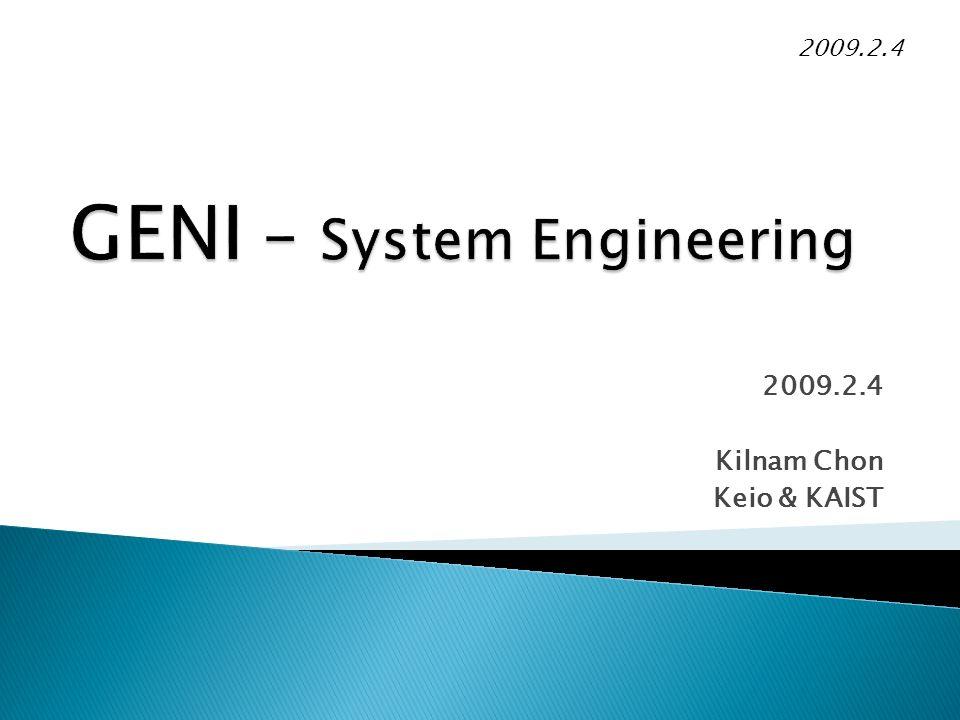 2009.2.4 Kilnam Chon Keio & KAIST 2009.2.4