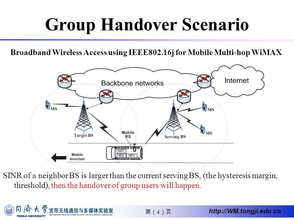 25 http://WM.tongji.edu.cn Average handover delay