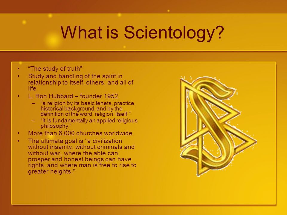 What is Scientology.