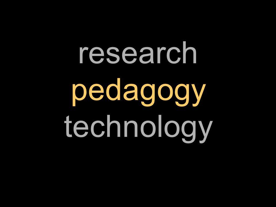 research pedagogy technology
