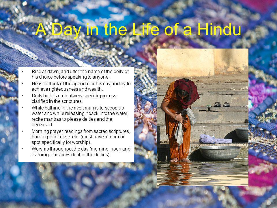 Hindu Values and Ideals Many different religious scriptures which discuss theology, philosophy and mythology- Vedas and Upanishads.