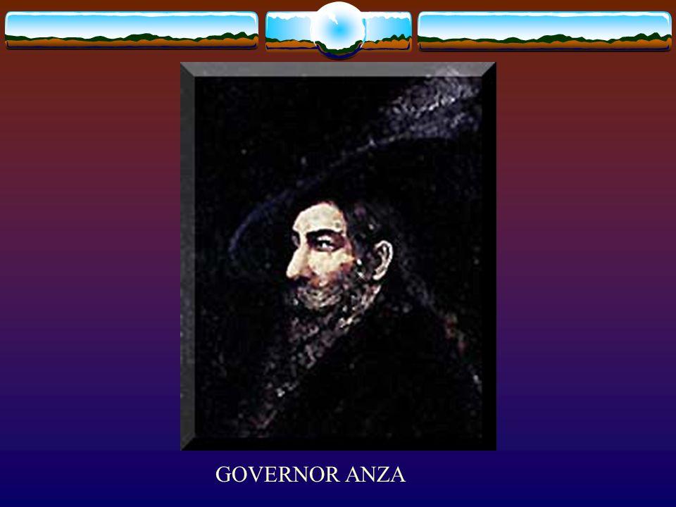 GOVERNOR ANZA