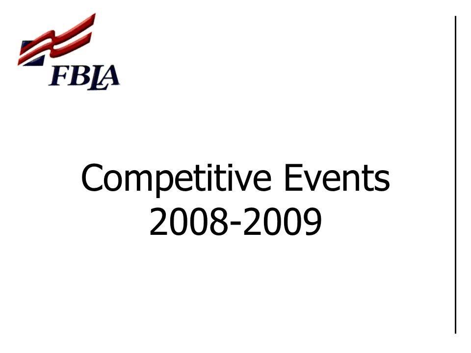 Important Links Colorado FBLA-PBL Website Colorado FBLA-PBL Competitive Events National FBLA-PBL Competitive Events