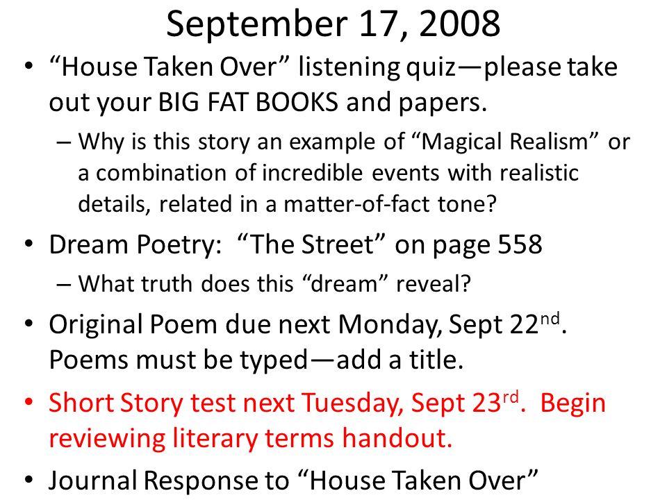 Happy Friday, Happy People Finish reading Fahrenheit by next Wednesday, October 29 th.