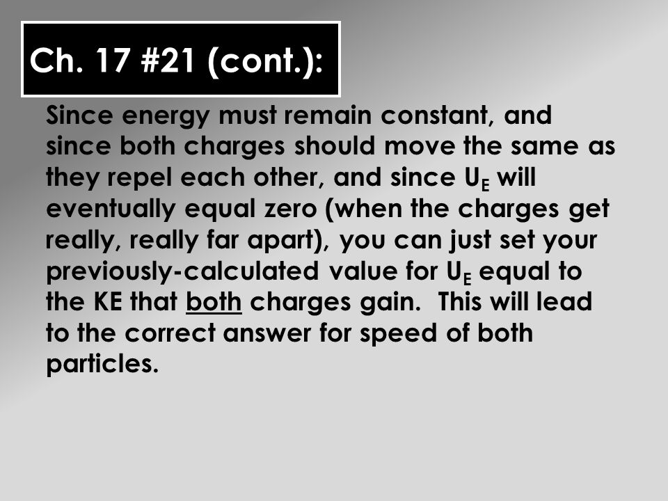 Ch.17 #22: Part A is very similar to the equilibrium problems we worked last chapter with forces.