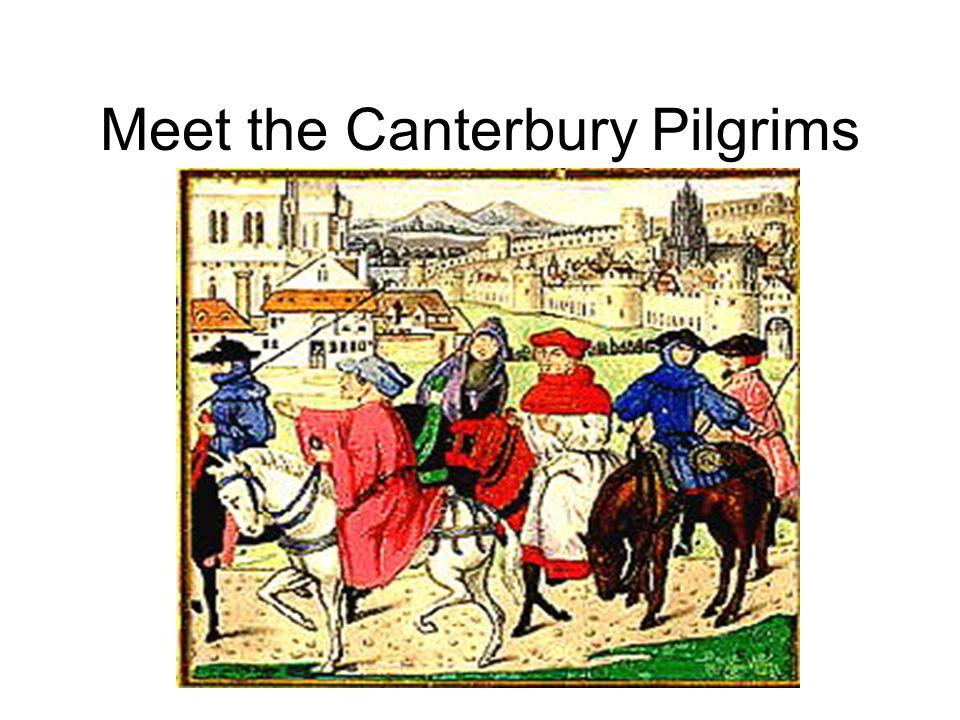 Meet the Canterbury Pilgrims