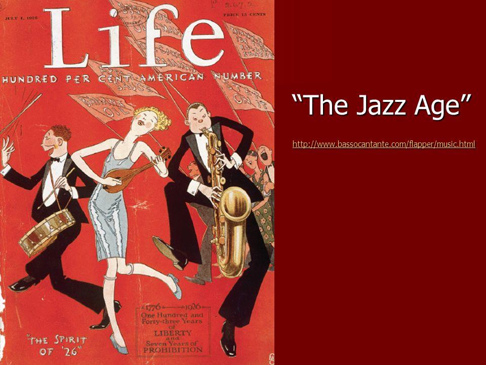 The Jazz Age http://www.bassocantante.com/flapper/music.html