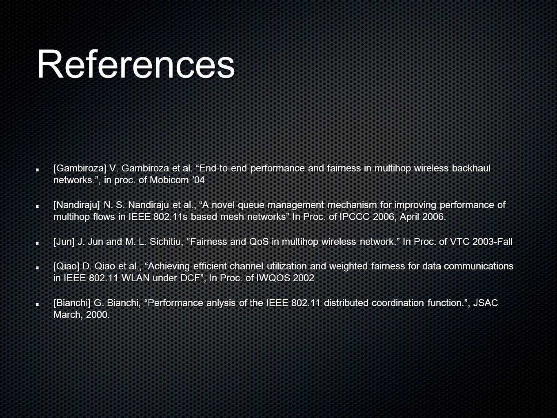 References [Gambiroza] V. Gambiroza et al.