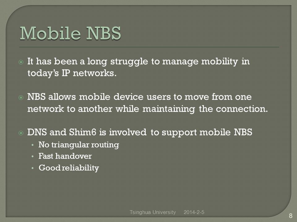 It has been a long struggle to manage mobility in todays IP networks.