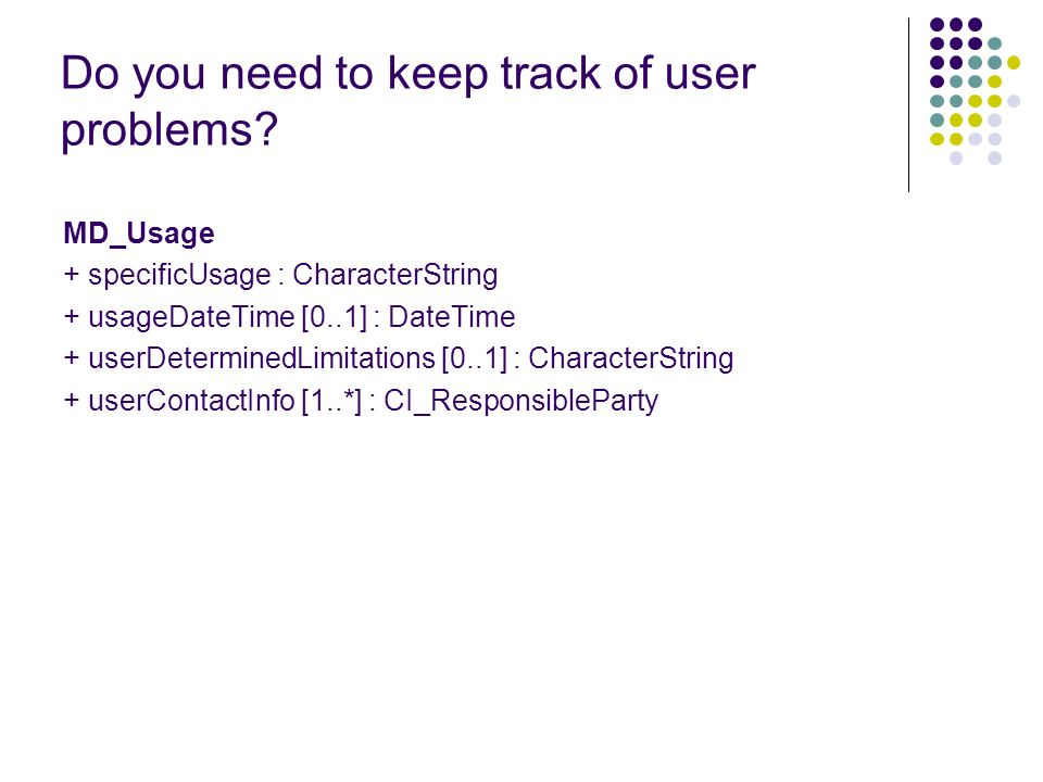 Do you need to keep track of user problems.
