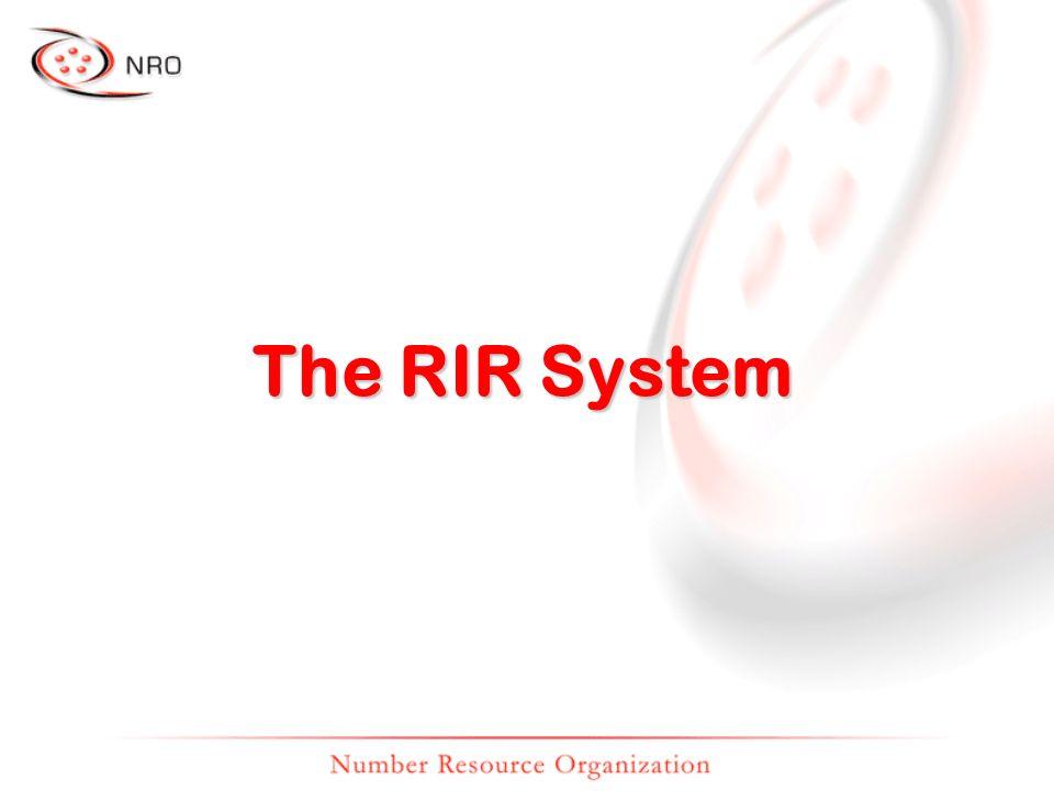 The RIR System