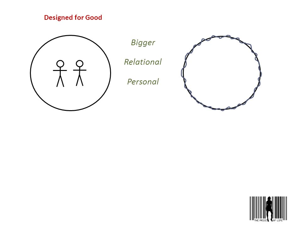 Designed for Good Bigger Relational Personal