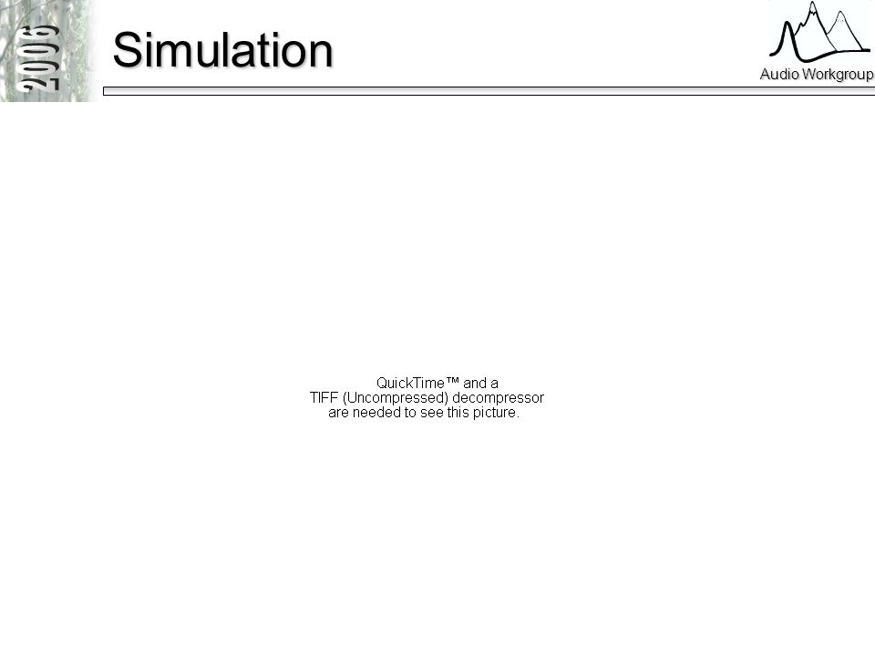 Audio Workgroup Simulation