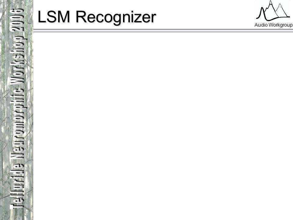 Audio Workgroup LSM Recognizer