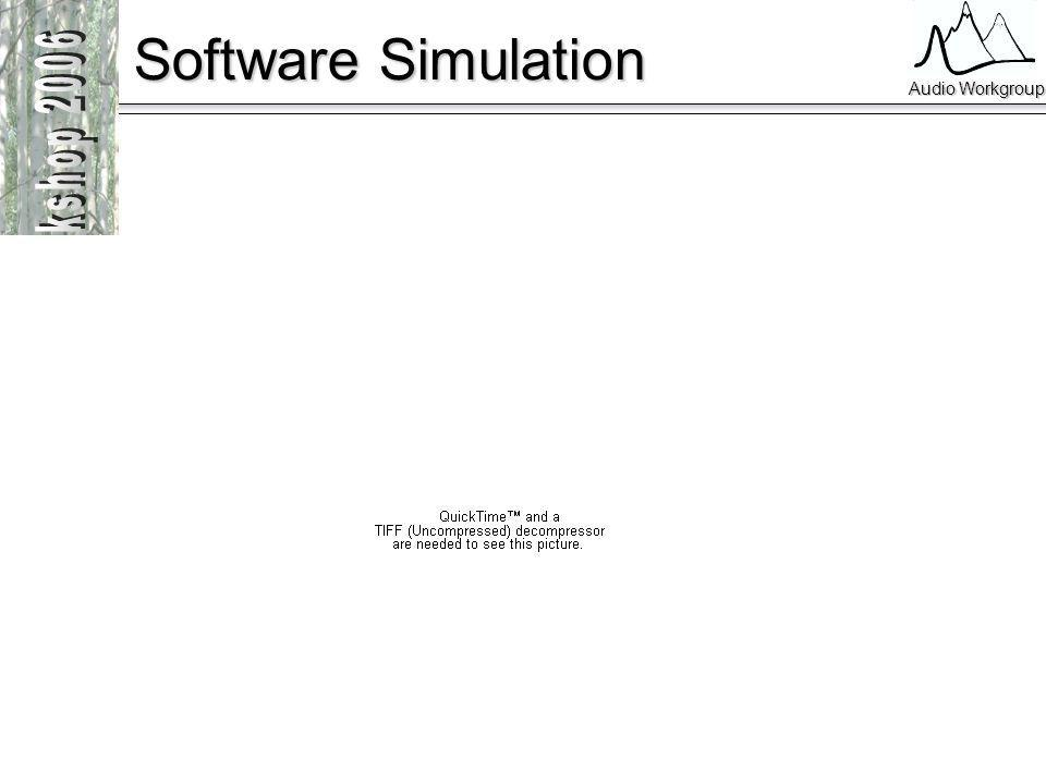 Audio Workgroup Software Simulation