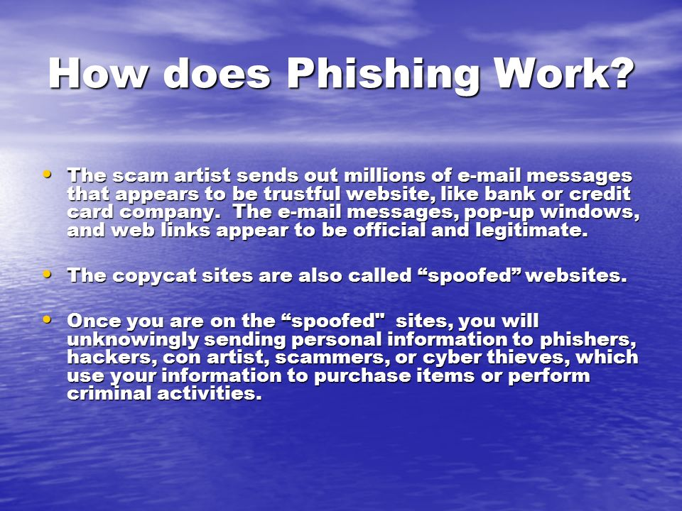 What is Phising Scam.
