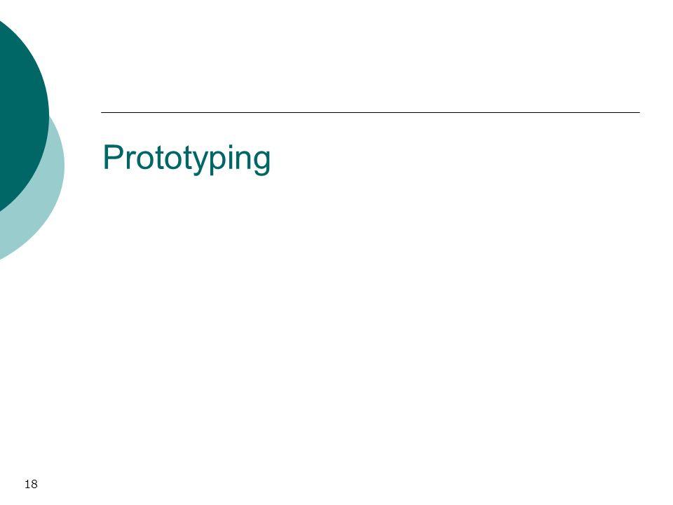 18 Prototyping