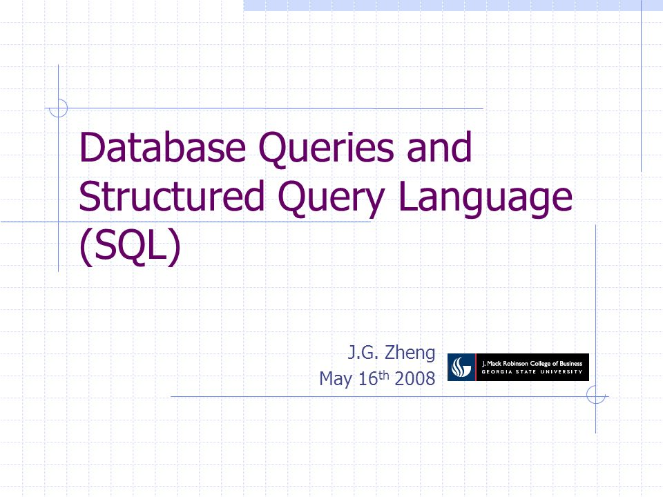 2 Overview SQL Language Query with SQL All examples can be used with the AmazonBook database Download it from the course website