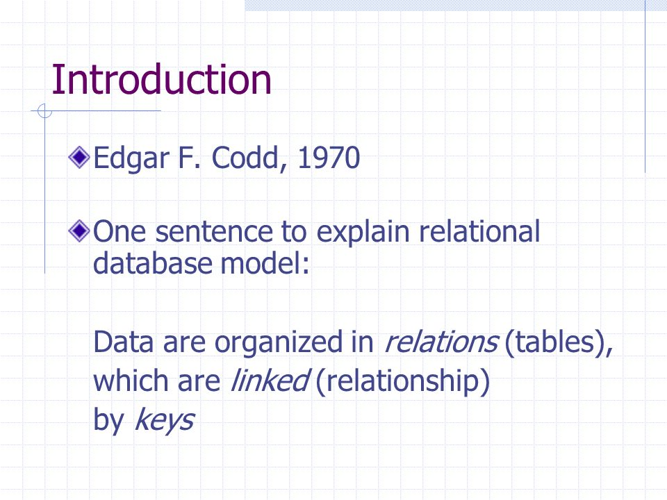Introduction Edgar F.