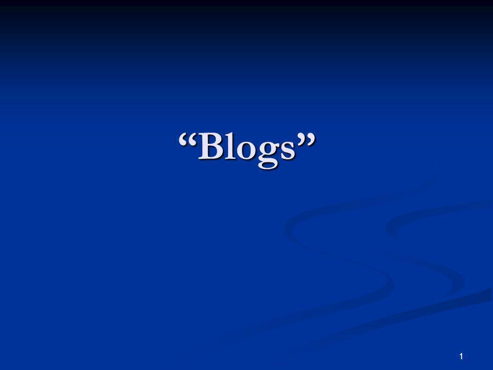 1 Blogs