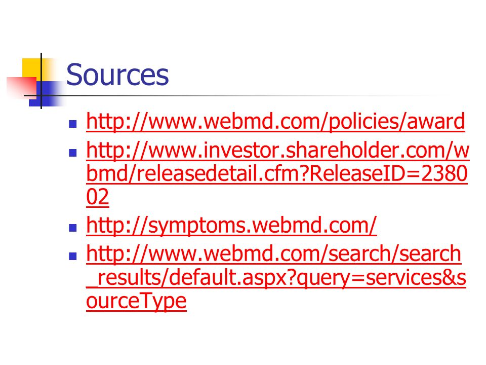 Sources     bmd/releasedetail.cfm ReleaseID= bmd/releasedetail.cfm ReleaseID= _results/default.aspx query=services&s ourceType   _results/default.aspx query=services&s ourceType