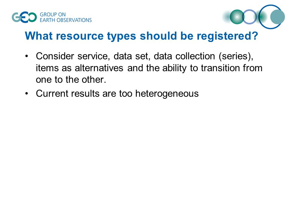 What resource types should be registered.