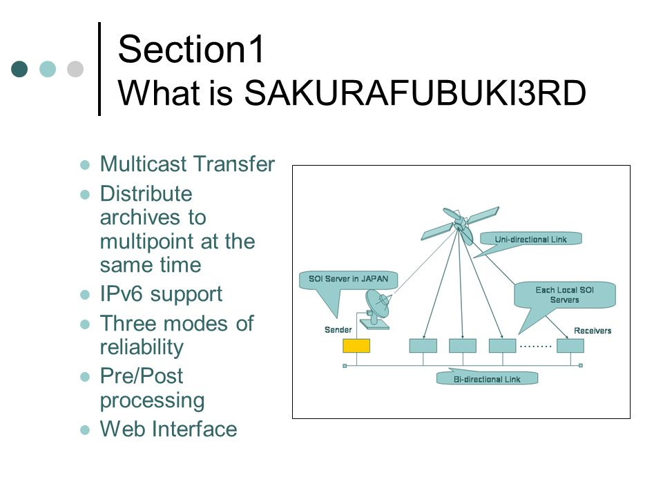 Section1 What is SAKURAFUBUKI3RD.