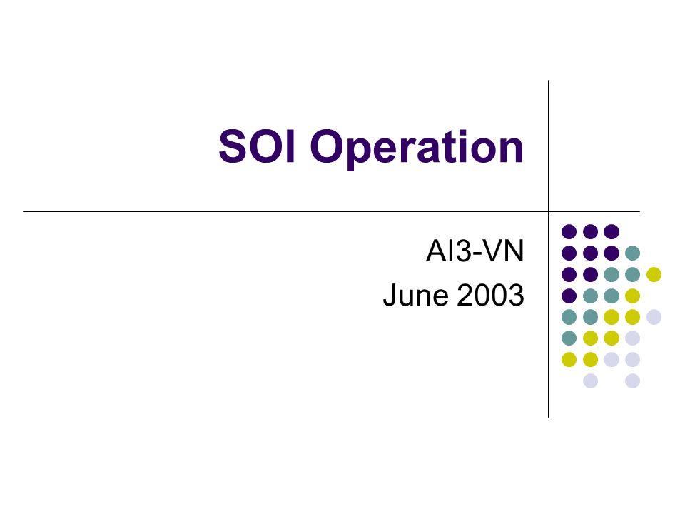 SOI Operation AI3-VN June 2003