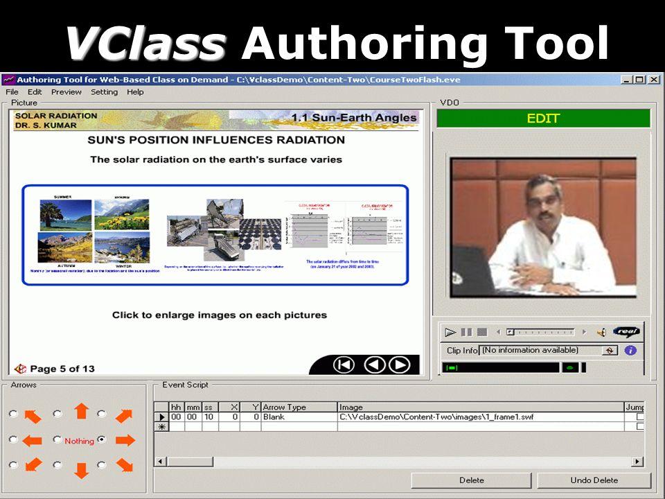 VClass VClass Authoring Tool