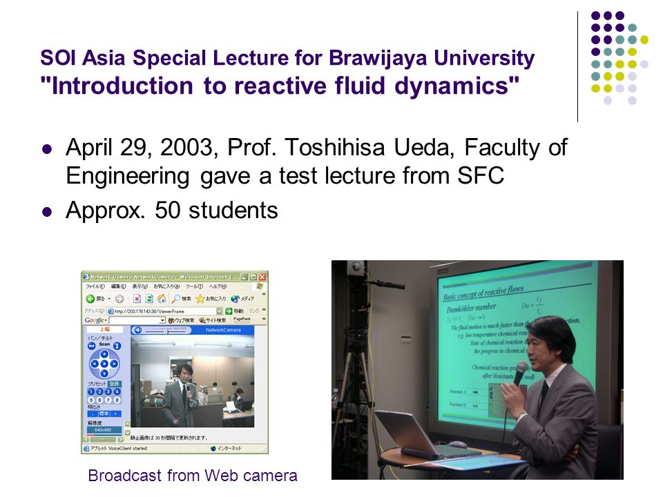 SOI Asia Special Lecture for Brawijaya University