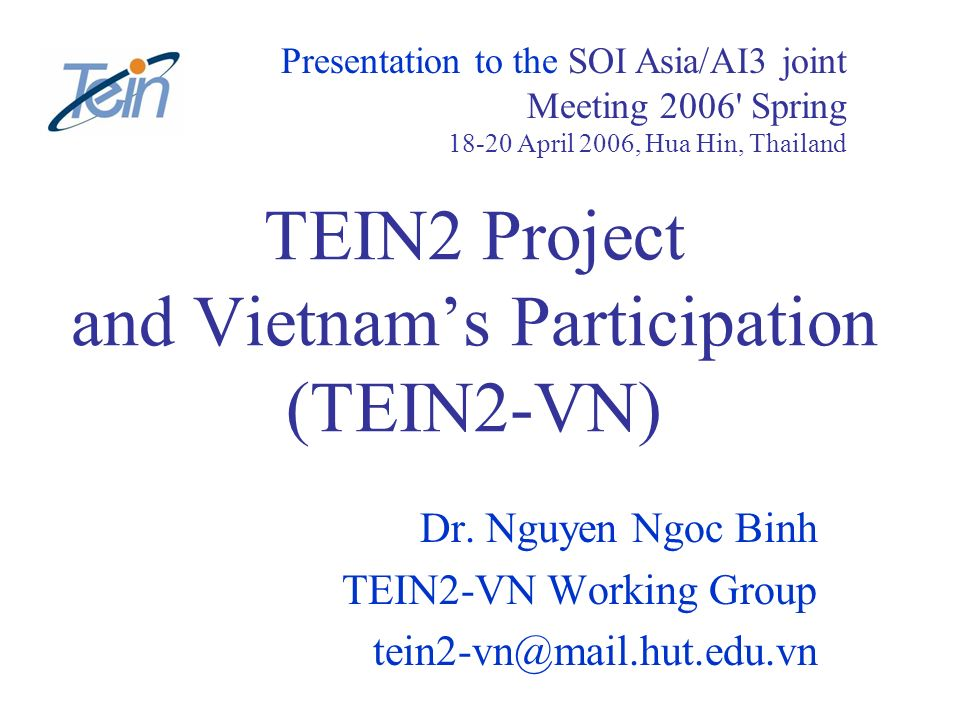 SOI Asia/AI3 Joint Meeting.Apr.